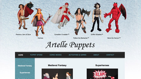 Artelle Puppets Image